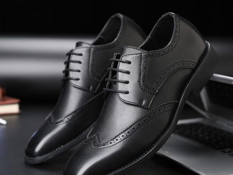 Zapato Formal En Cuero Genuino Tipo Oxford Para Uso De Calle