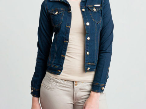 Chaqueta En Denim