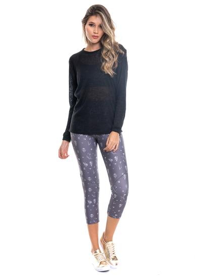 Leggings Estampado Gris