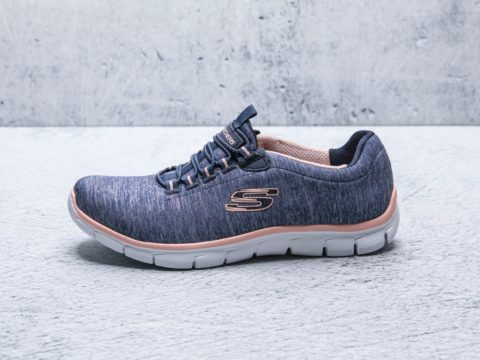 Tenis Skechers Mujer 12808NVCL