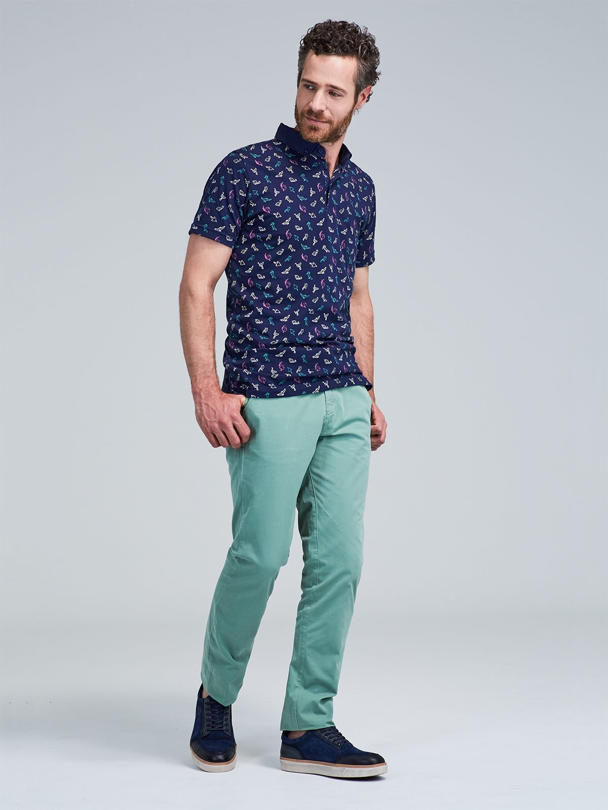 Pantalón Casual 440 Colors Regular Fit para hombre